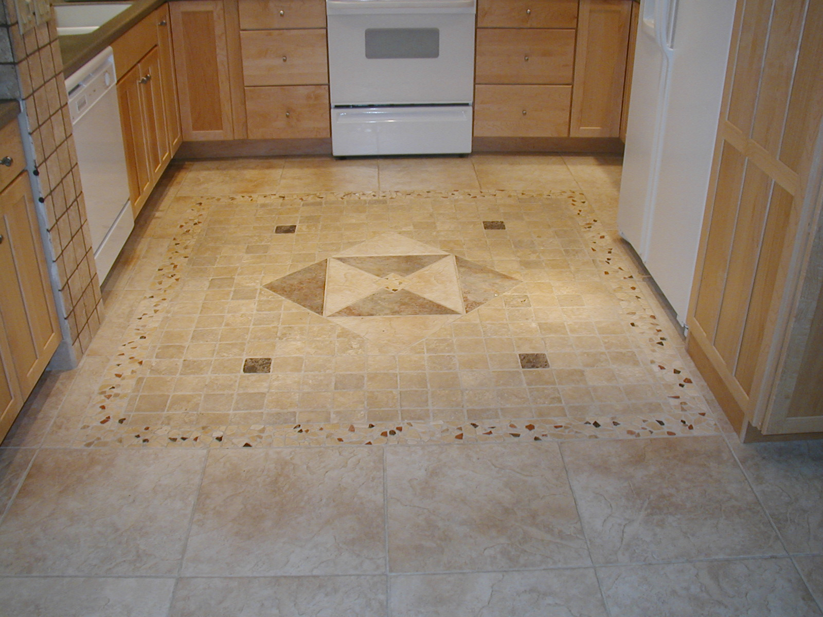 kitchen floor tile photo - 6