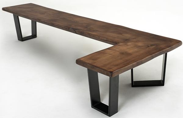 l shaped kitchen bench photo - 4
