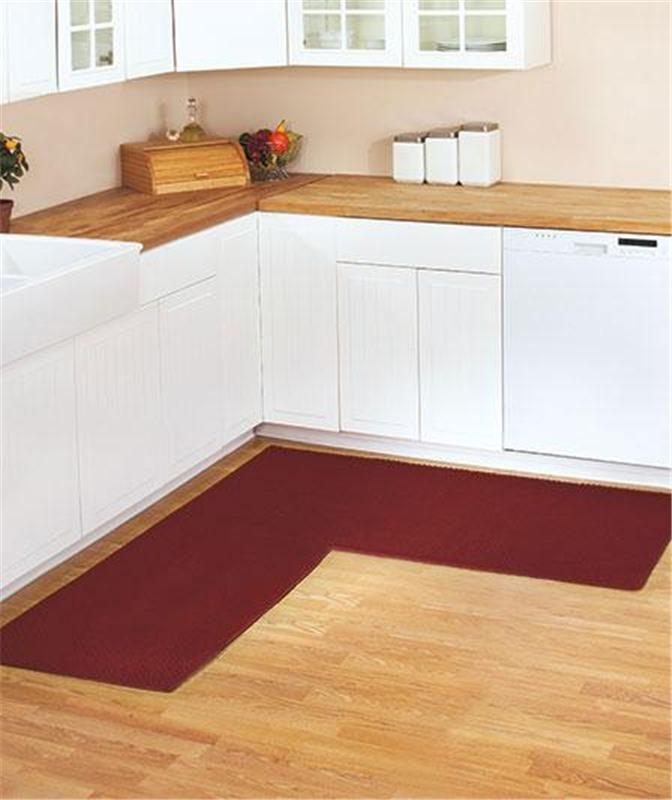 l shaped kitchen rug photo - 4