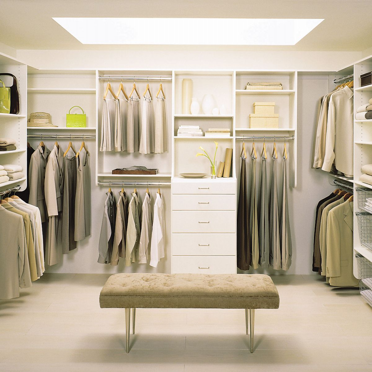 large walk in closet design photo - 6