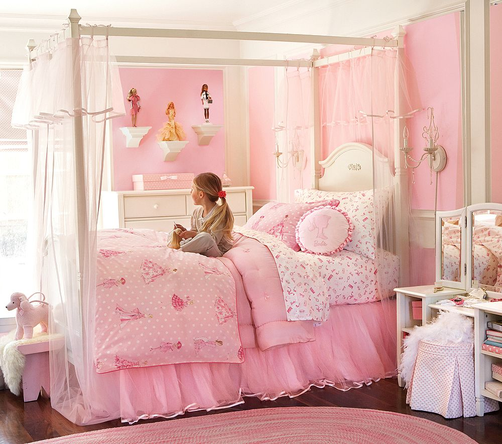 little girl room ideas pink photo - 3