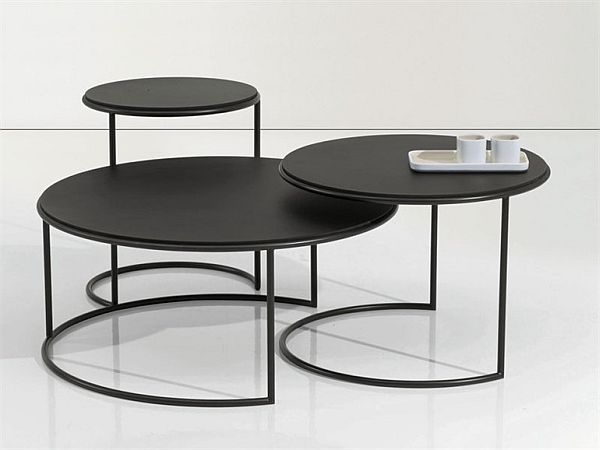 marble coffee table design photo - 1
