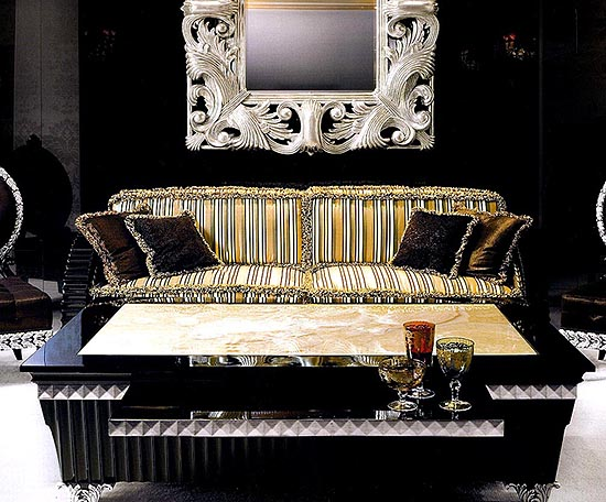 marble coffee table design photo - 6
