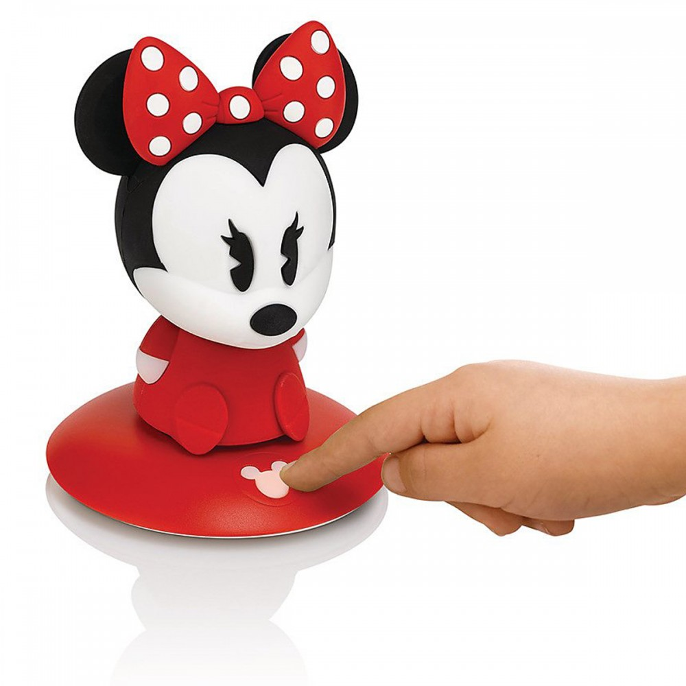 minnie mouse bedroom lamp photo - 4