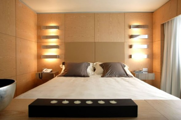 modern bedroom wall lamps photo - 2