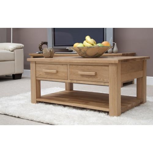 modern coffee table drawers photo - 3