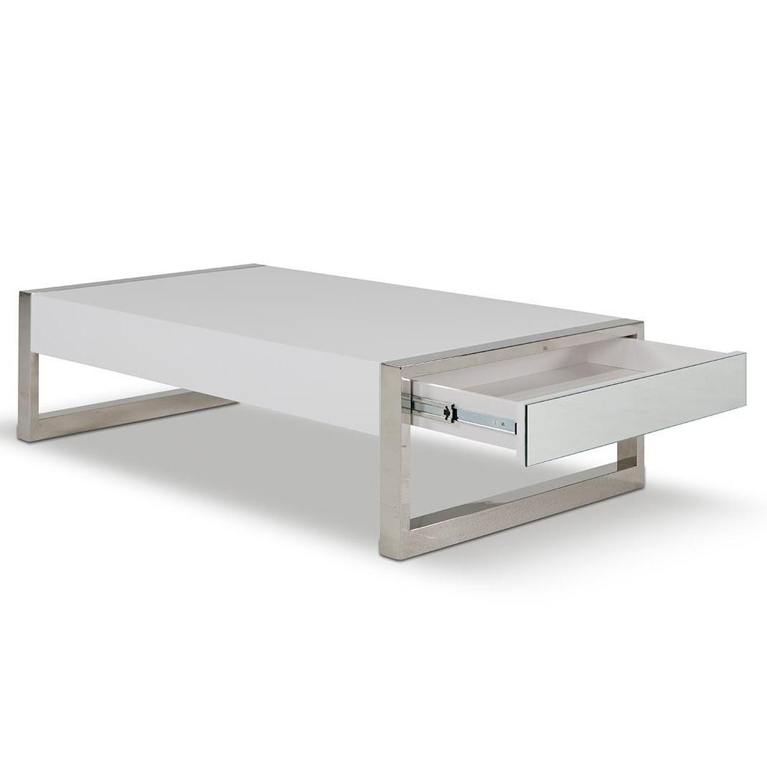 modern coffee table drawers photo - 6