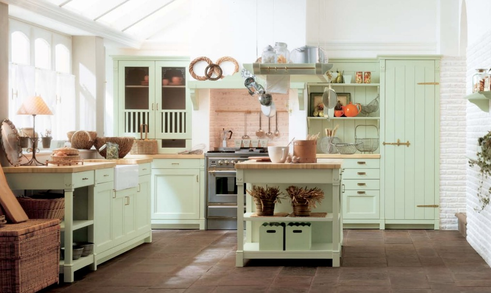 modern country kitchen accessories photo - 2