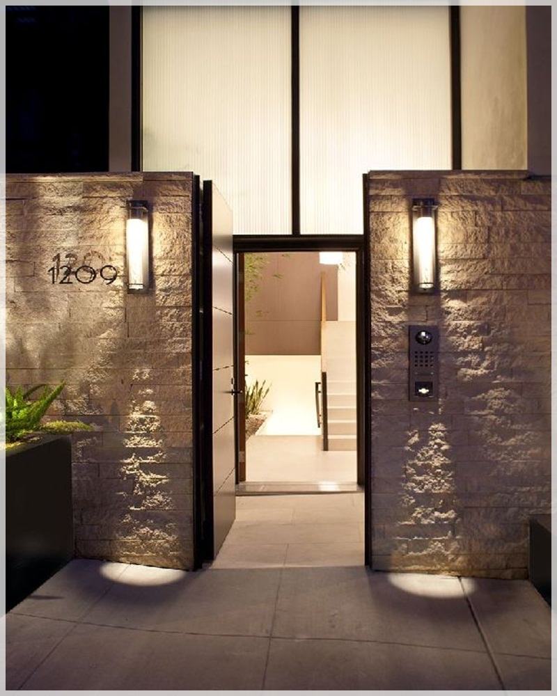 modern door gate design photo - 4