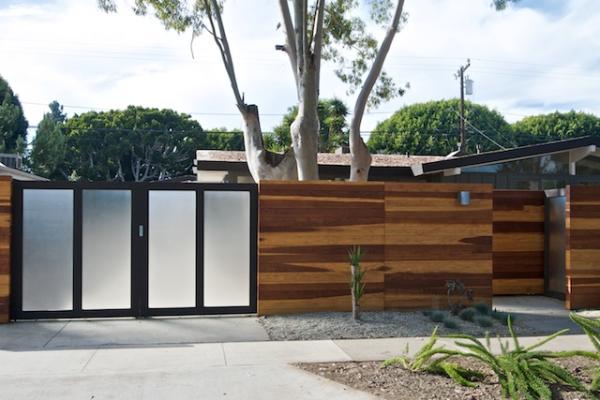 modern door gate design photo - 6