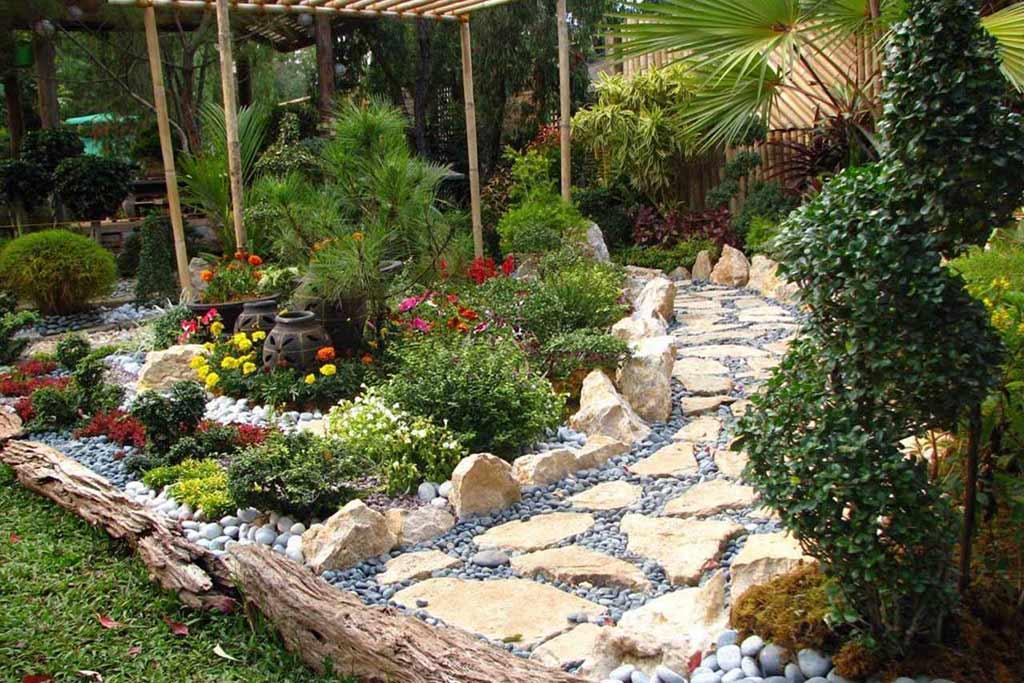 oriental garden design ideas photo - 1