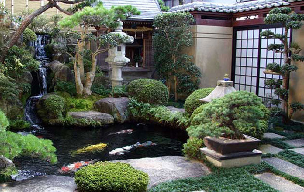 oriental garden design ideas photo - 2