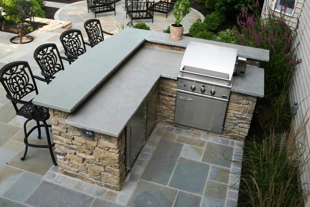 outdoor bar grill designs photo - 1