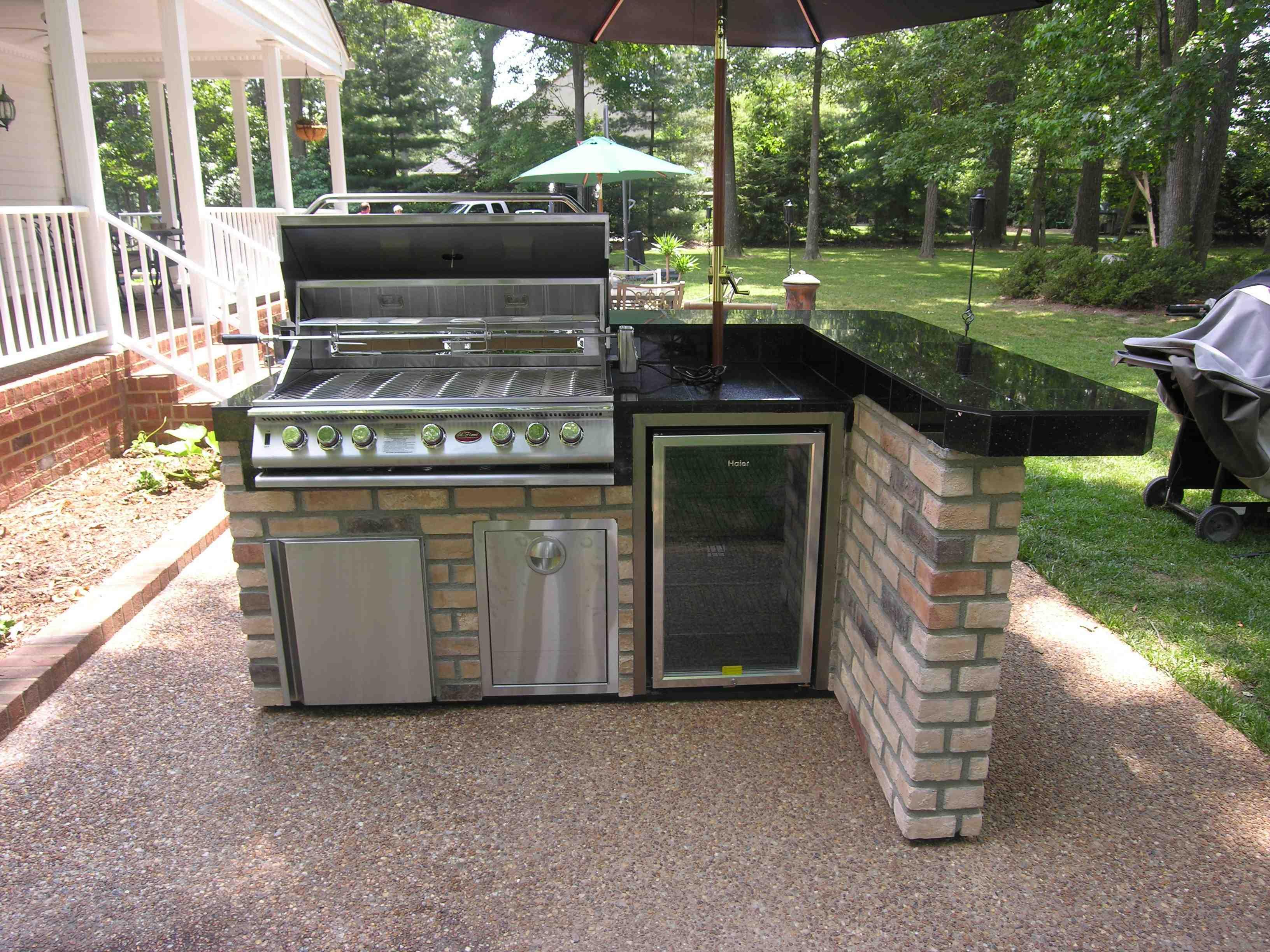 outdoor bar grill designs photo - 4