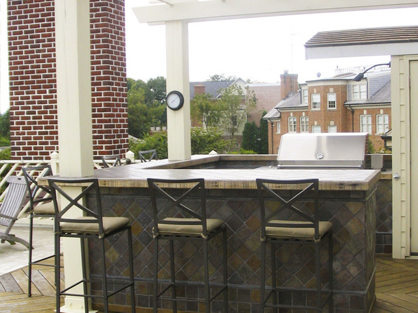outdoor bar plans and designs photo - 4