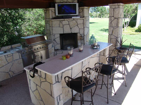 outdoor bar plans and designs photo - 5