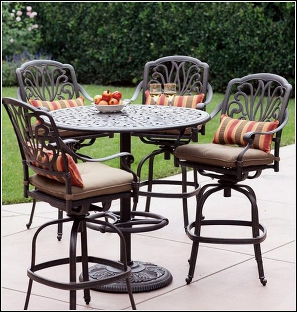 outdoor bar sets clearance photo - 3