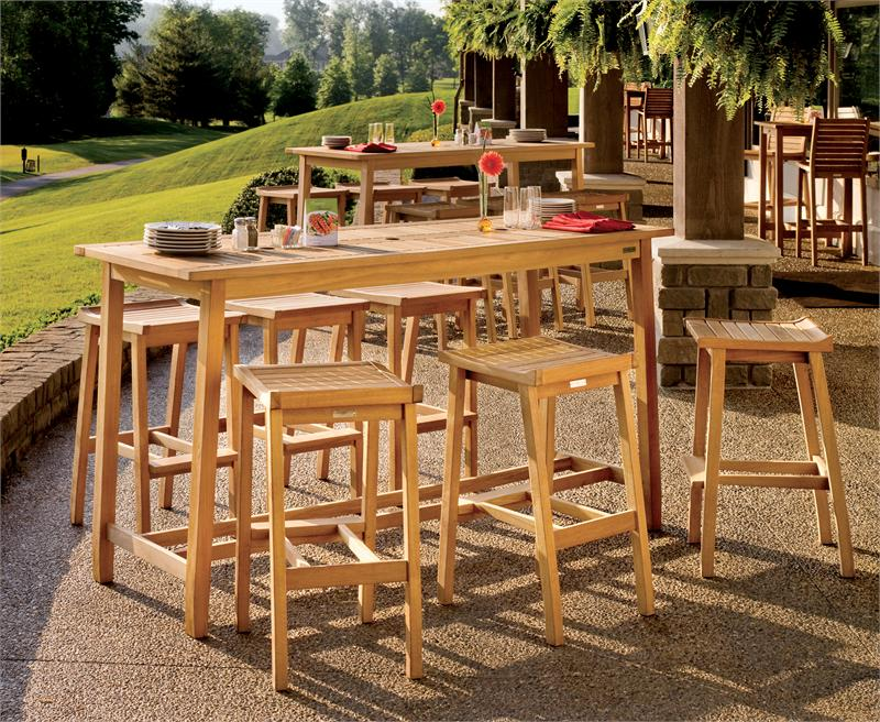 outdoor bar sets clearance photo - 5