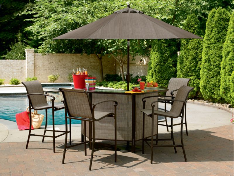 outdoor bar sets sears photo - 4