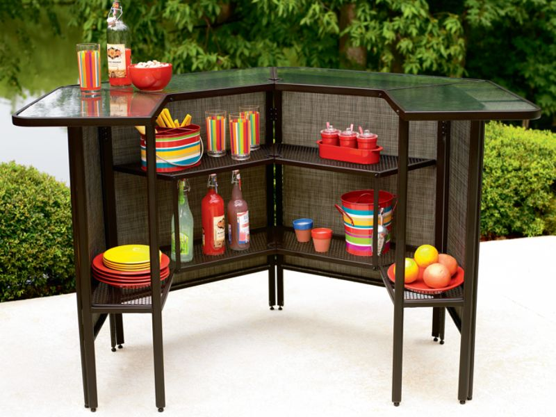 outdoor bar sets sears photo - 5