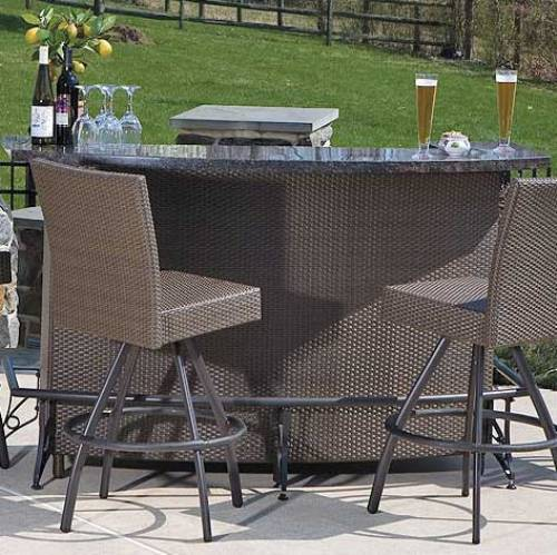 outdoor bar sets with canopy photo - 1