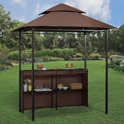outdoor bar sets with canopy photo - 5