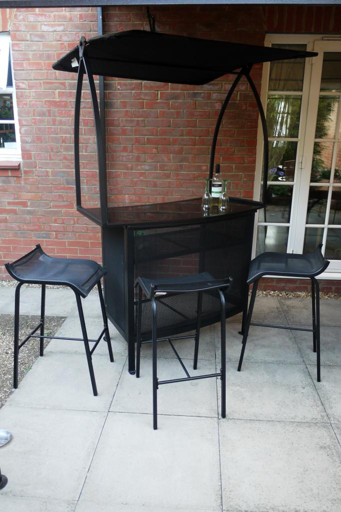 outdoor bar sets with canopy photo - 6