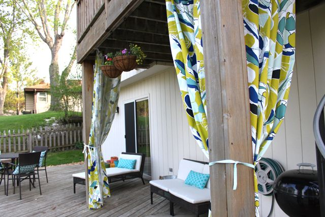 outdoor curtains at ikea photo - 4