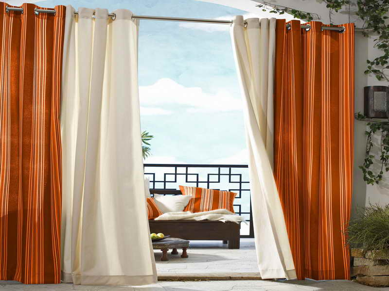 outdoor curtains at ikea photo - 6