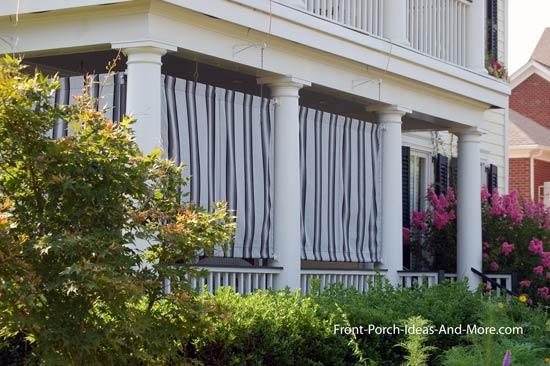 outdoor curtains balcony photo - 4