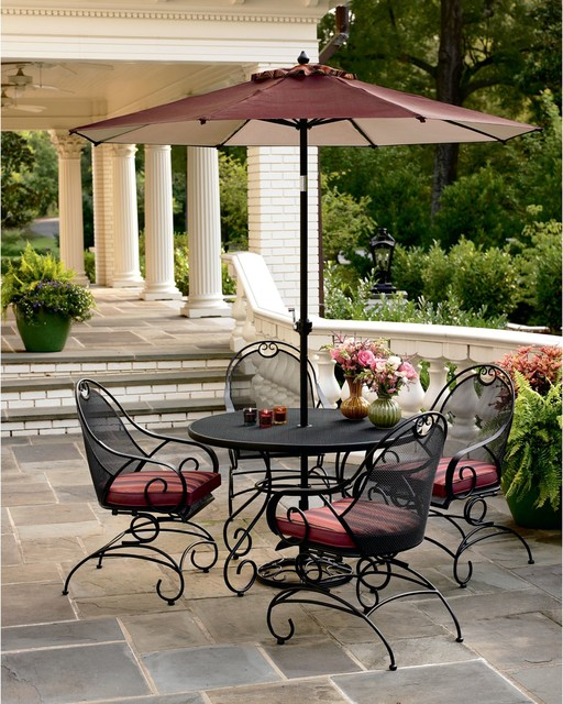 outdoor dining sets iron photo - 5