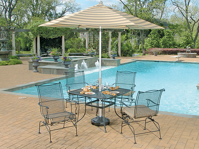 outdoor dining sets iron photo - 6