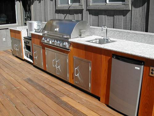 outdoor kitchen equipment photo - 1