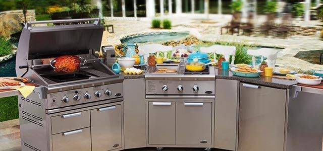outdoor kitchen equipment photo - 3