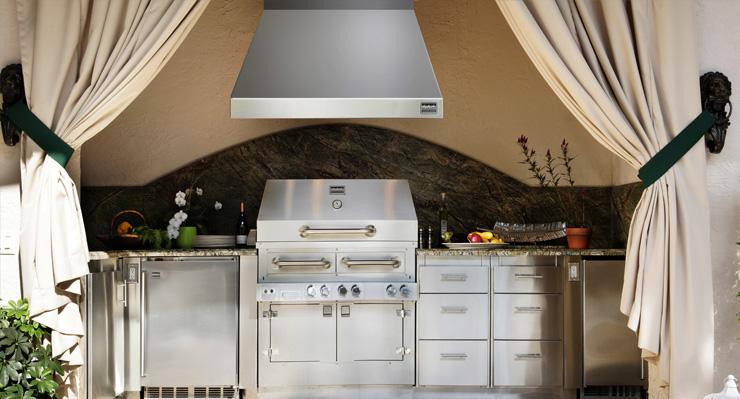 outdoor kitchen ventilation photo - 1
