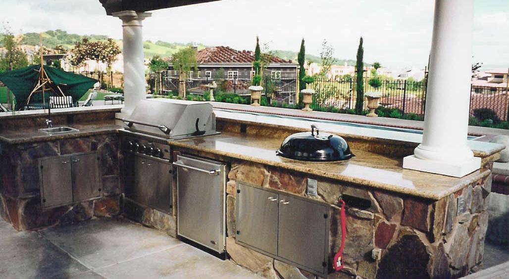 outdoor kitchen weber photo - 2