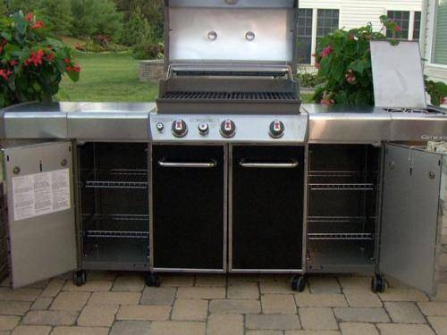 outdoor kitchen weber photo - 3