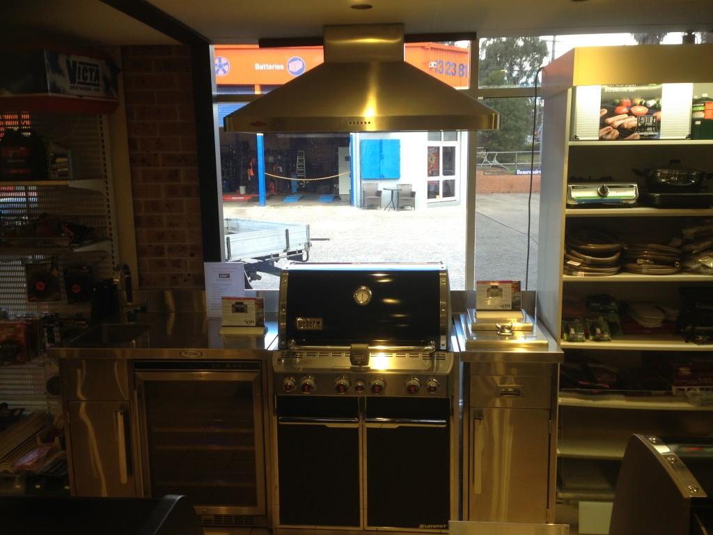 outdoor kitchen weber photo - 4