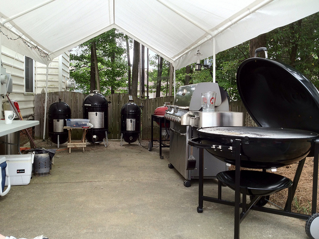 outdoor kitchen weber photo - 6