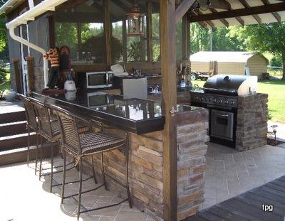 outdoor mini bar designs photo - 1