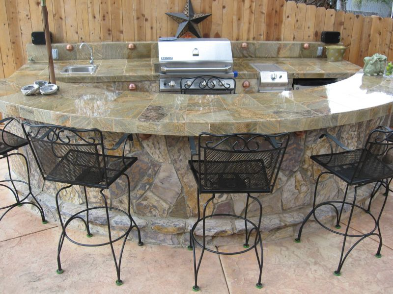 outdoor mini bar designs photo - 5