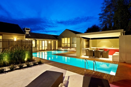 outdoor pool and bar designs photo - 4