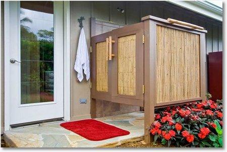 outdoor shower door photo - 1