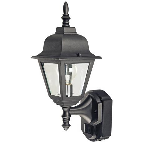 outdoor wall light with built in outlet photo - 6