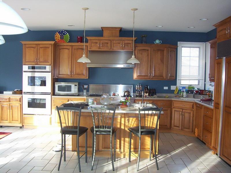 painting kitchen cabinets good idea photo - 1