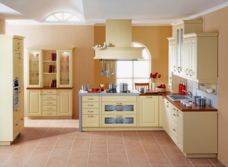 painting kitchen cabinets good idea photo - 2