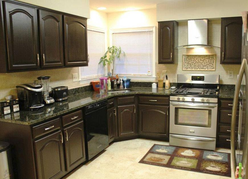 painting kitchen cabinets good idea photo - 6