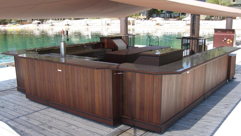 portable outdoor bar designs photo - 1