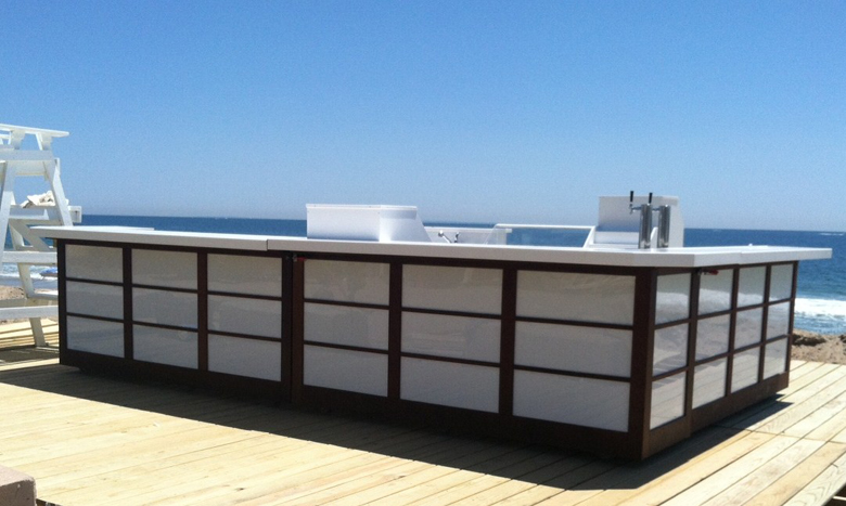 portable outdoor bar designs photo - 2