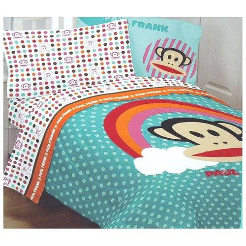 rainbow polka dot bedding photo - 1